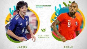 Prediksi Jepang vs Chile 18 Juni 2019